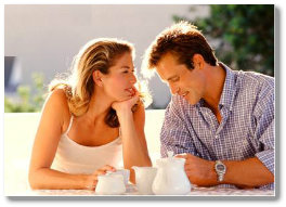 A couple that received the help of a marriage counselor near Bedminster, NJ